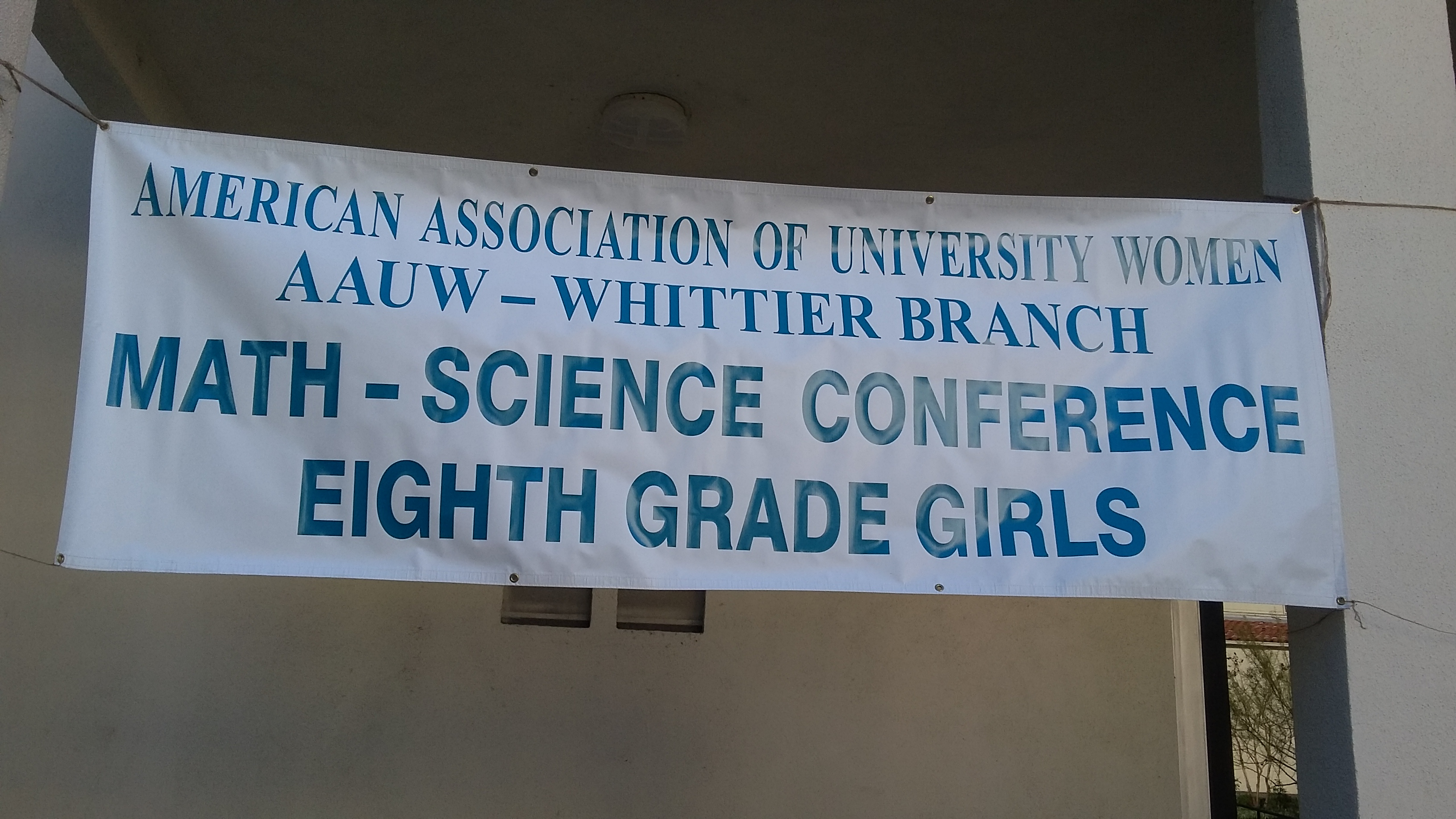 AAUW Math/Science Conference | Greater Whittier Area